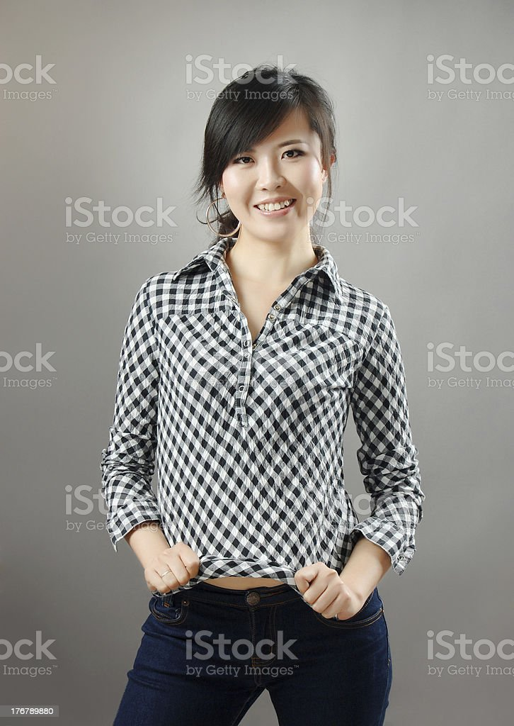 pretty young girl stock photo