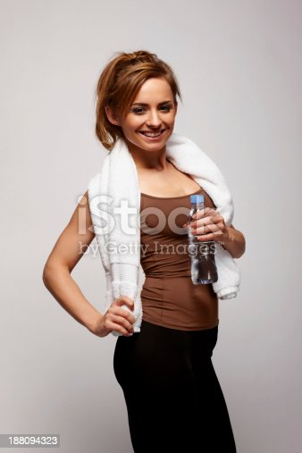 508386622istockphoto Pretty young woman after workout 188094323