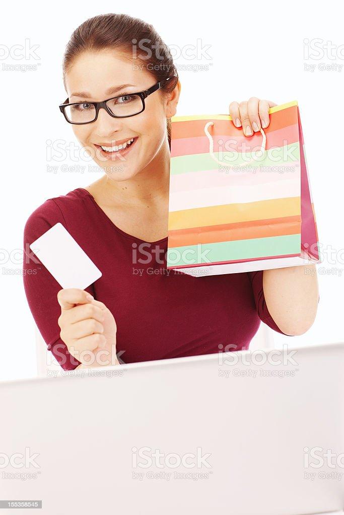low priced 79b13 9fe09 Bella Ragazza Lo Shopping Online Con Il Portatile ...