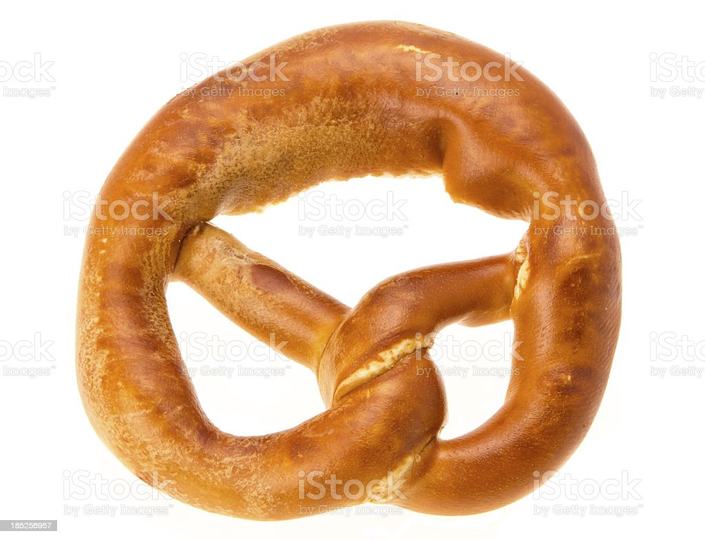 Pretzel royalty-free stock photo