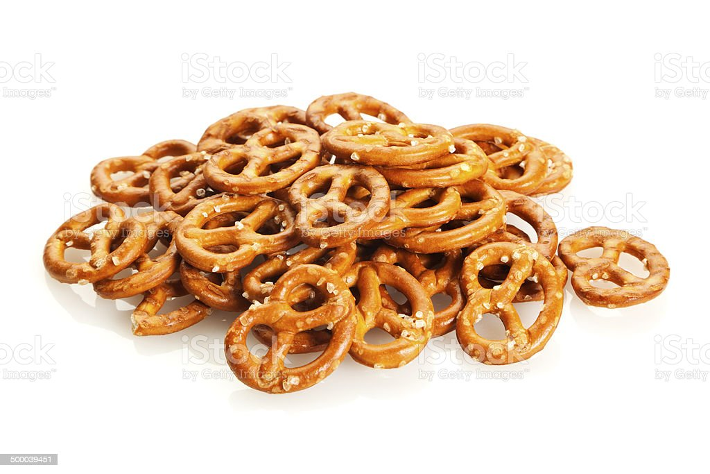 Pretzel Snack stock photo