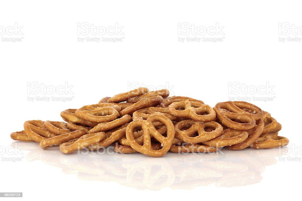 Pretzel Snack royalty-free stock photo