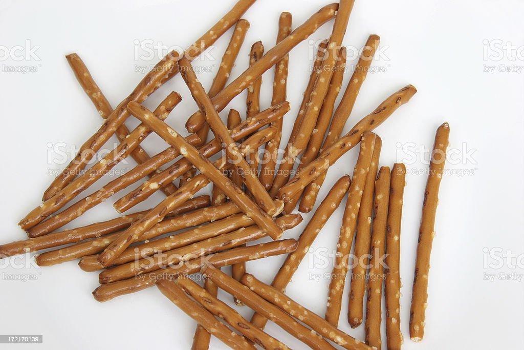 Pretzel Sticks stock photo