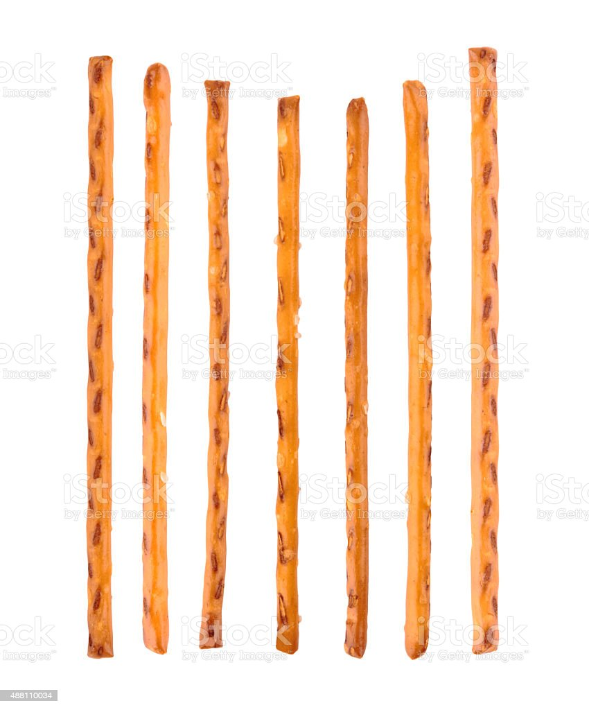 pretzel sticks stock photo