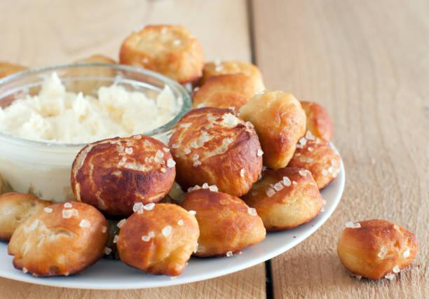 pretzels bites - 咬 個照片及圖片檔