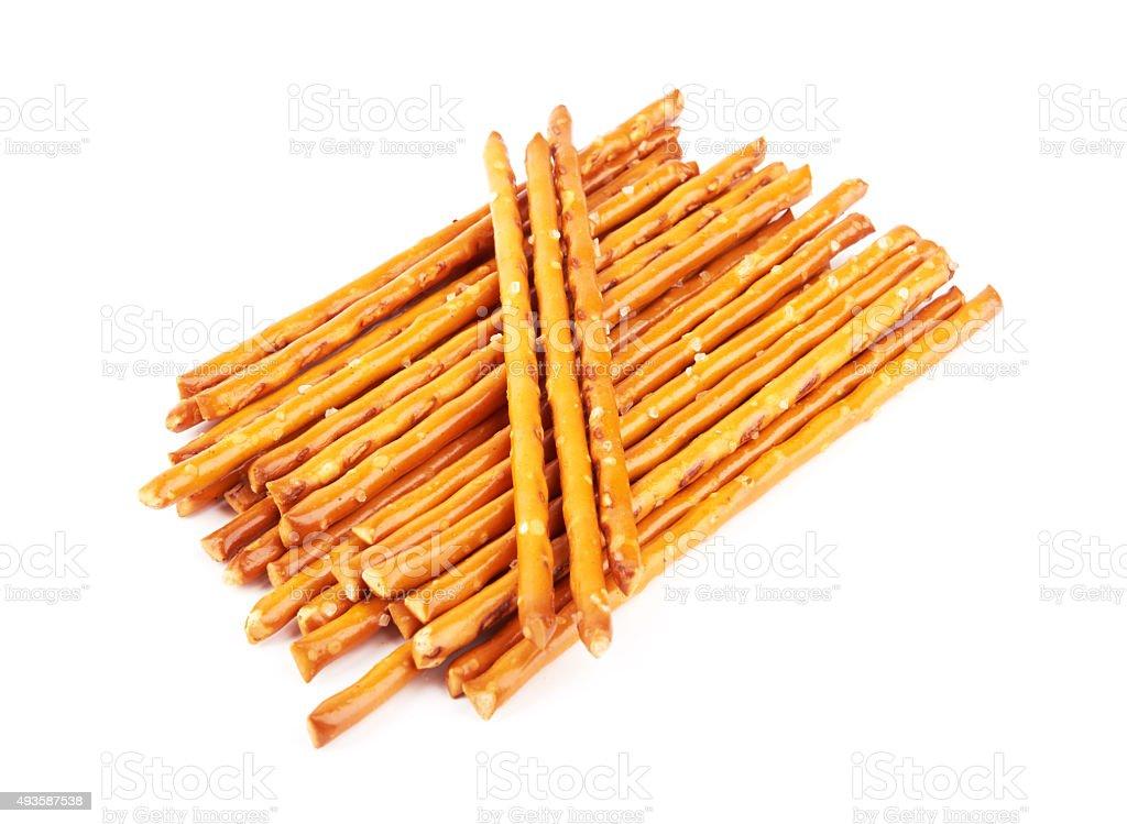 pretzels stock photo