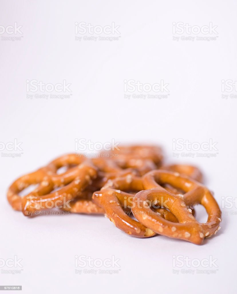Pretzels royalty-free stock photo