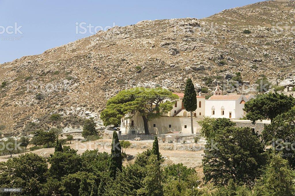 Prevelli monastery royalty-free stock photo