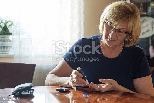istock Prevent diabetes with healthy lifestyle and appropriate diet 859129800