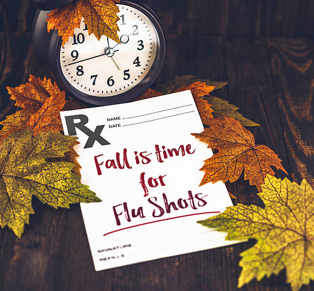 Preventative healthcare. Fall is time for Flu Shots Preventative healthcare. Fall is time for Flu Shots flu shot stock pictures, royalty-free photos & images