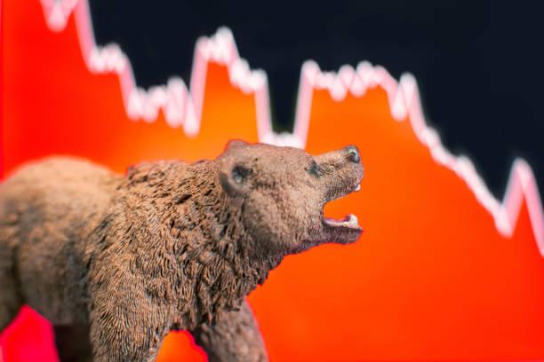 preis-crash und bären-markt - börsencrash stock-fotos und bilder