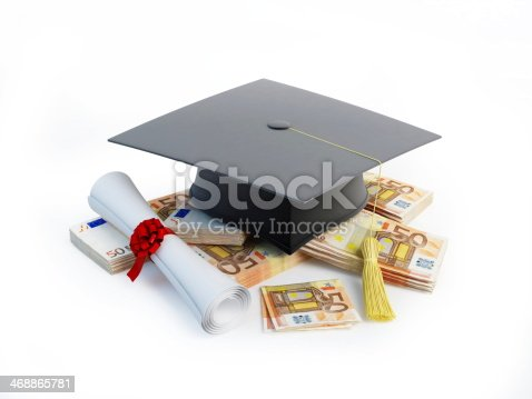 941829872 istock photo Price Leaving Certificate or training on a white background 468865781