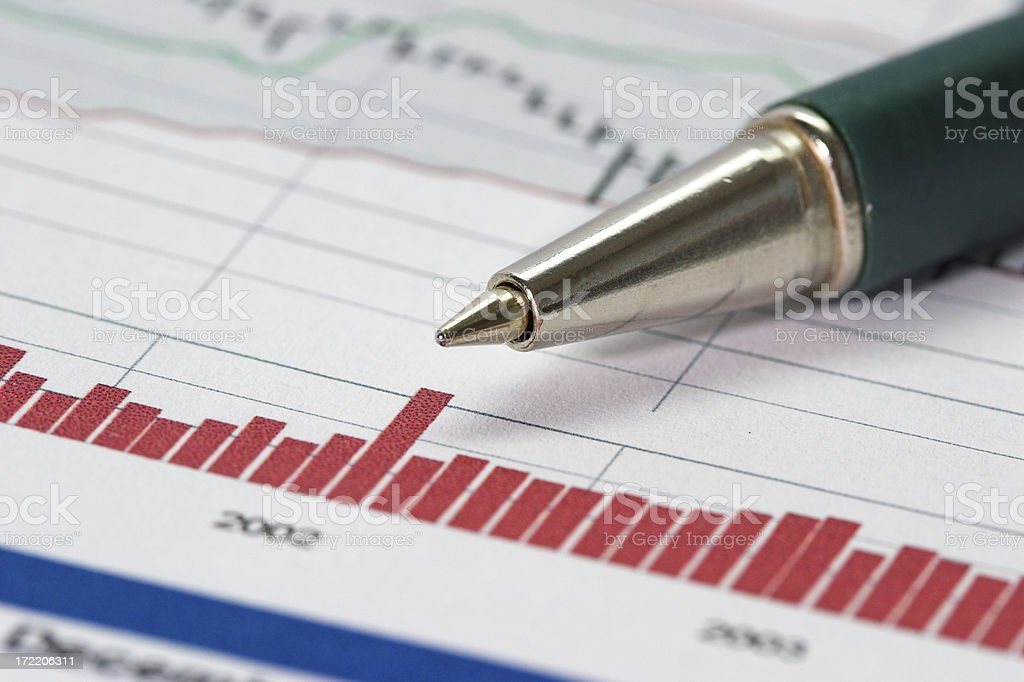 Price performance royalty-free stock photo