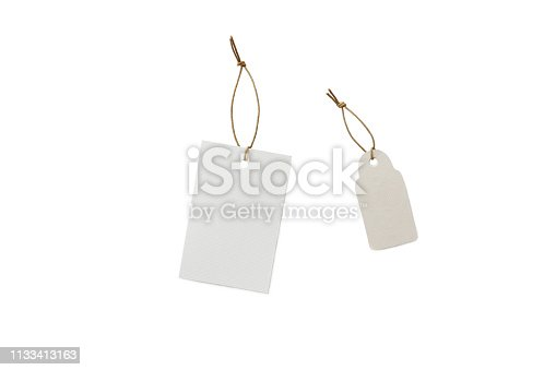 istock Price signs with ribbon 1133413163