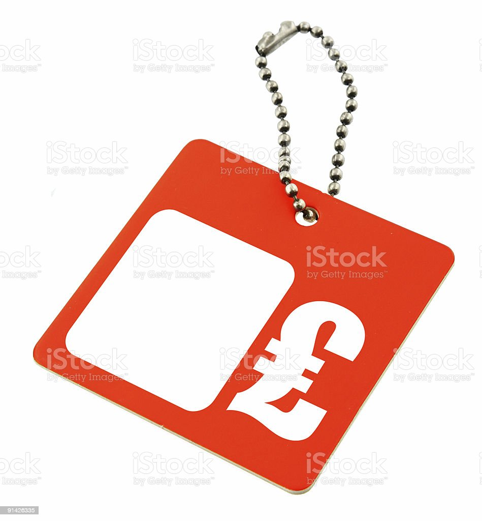 Price Tag Gbp Symbol Stock Photo More Pictures Of Advice Istock