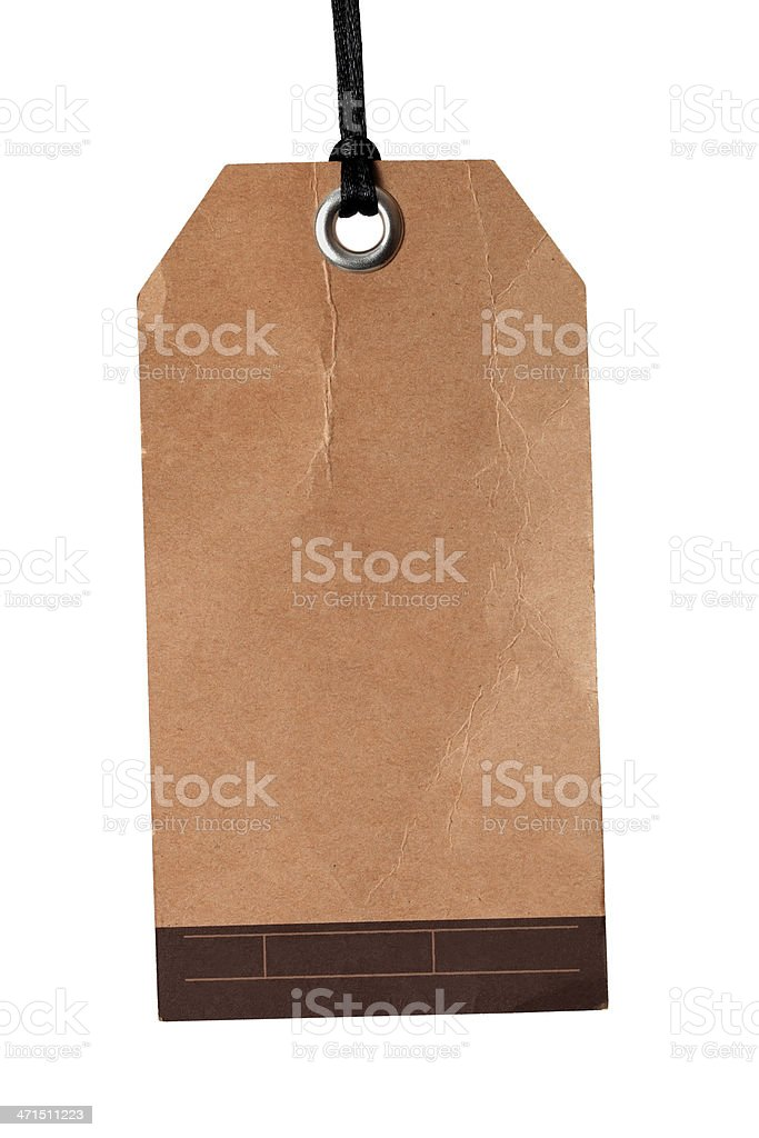 Price tag label royalty-free stock photo