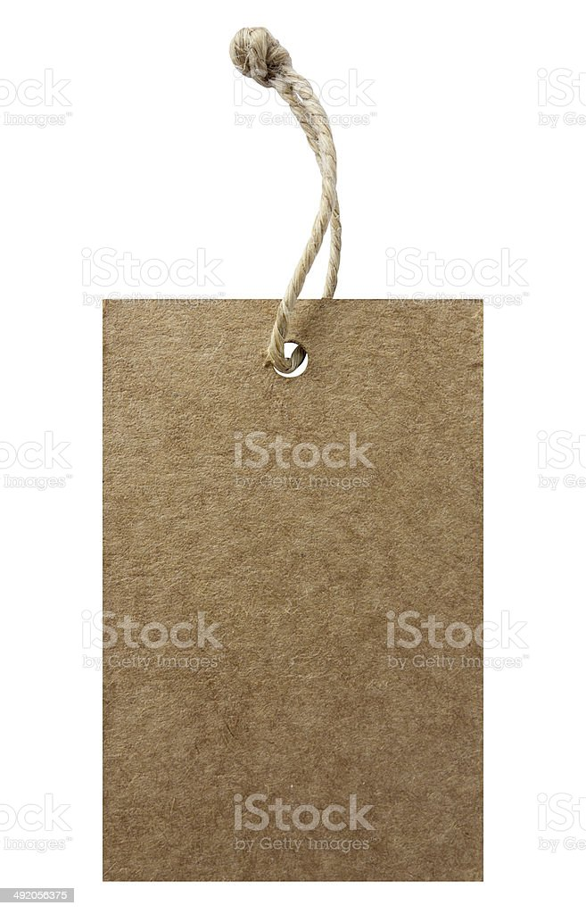 Price Tag With Clipping Path stock photo