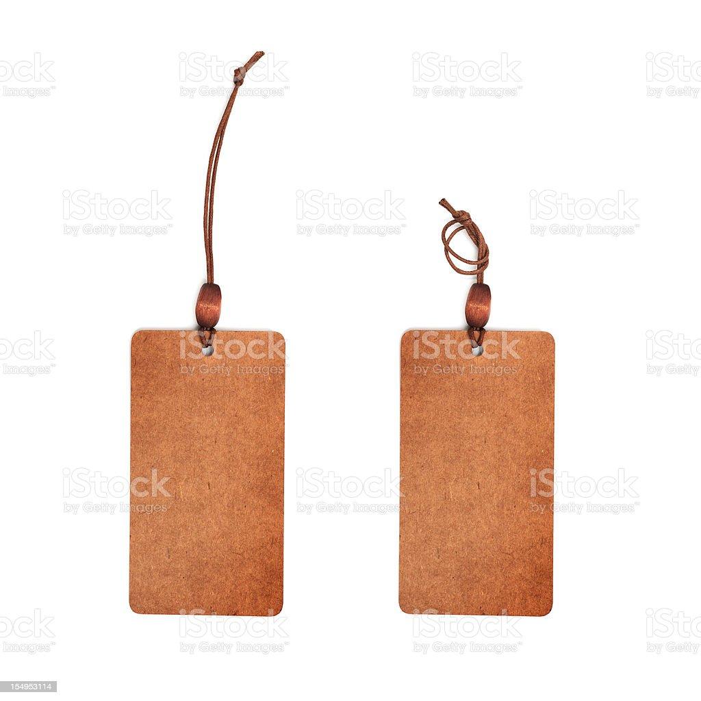 Price Tag-Sales Concept-Emptgy Label,Cardboard, Labeling stock photo