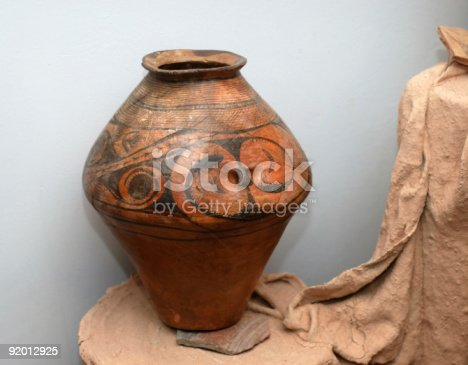 Priceless Archeological Find Of Famous Tripolsk Culture Stock Photo