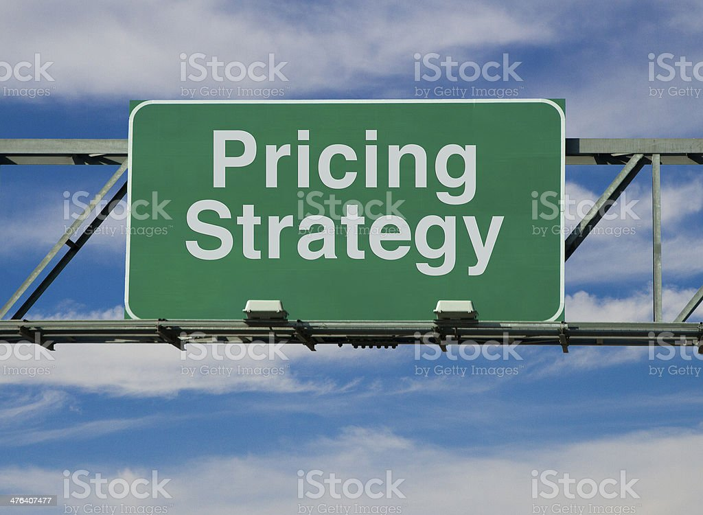 Pricing Strategy stock photo