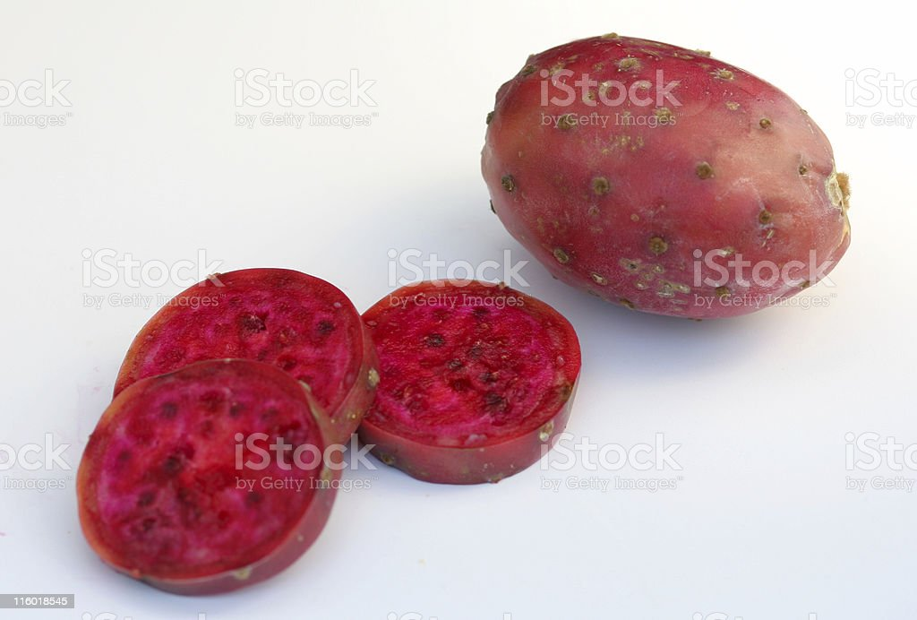 prickly cactus pear royalty-free stock photo
