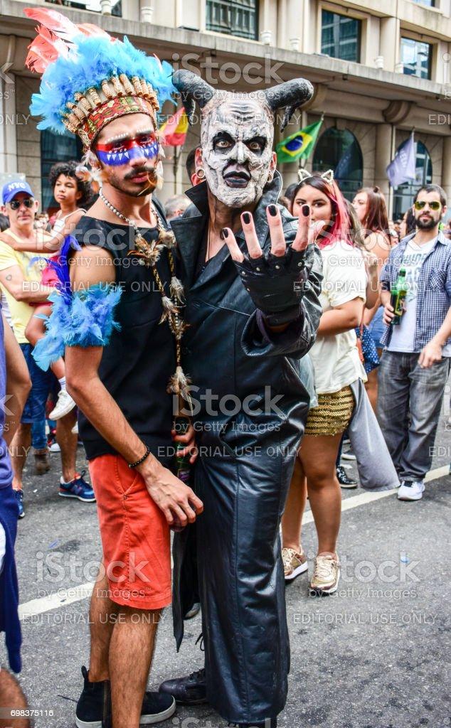 LGBT Pride 2017 São Paulo stock photo