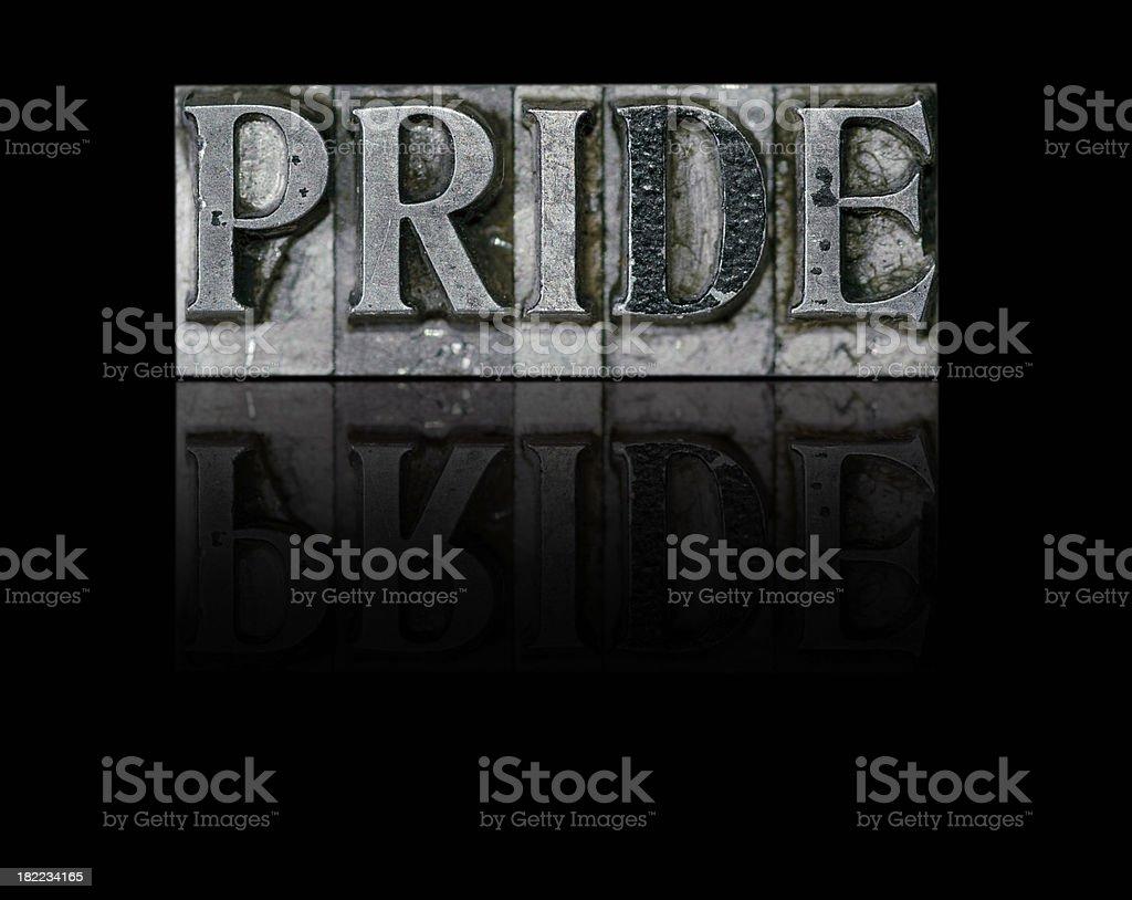 Pride; a Deadly Sin stock photo