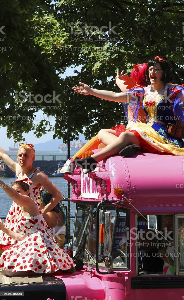 Pride and Cosplay royalty-free stock photo