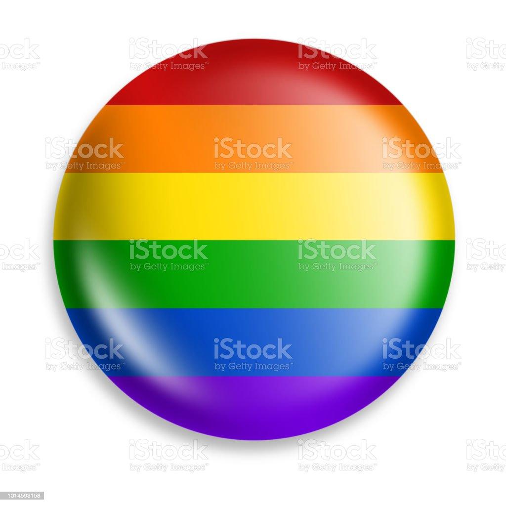 pride button stock photo