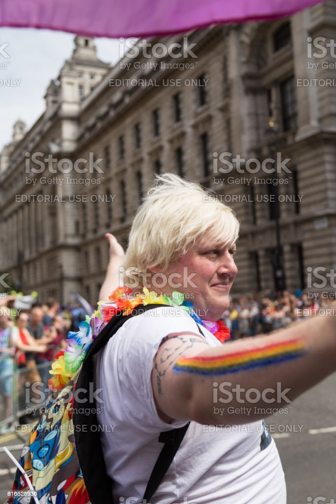 Pride In London 2017 stock photo