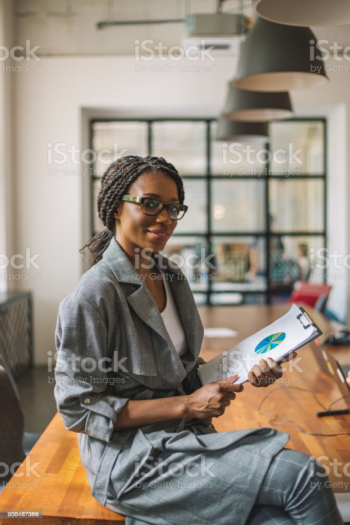 I pride myself on managing a high performing team stock photo