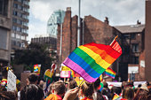 istock Pride Parade Flags 1202130595