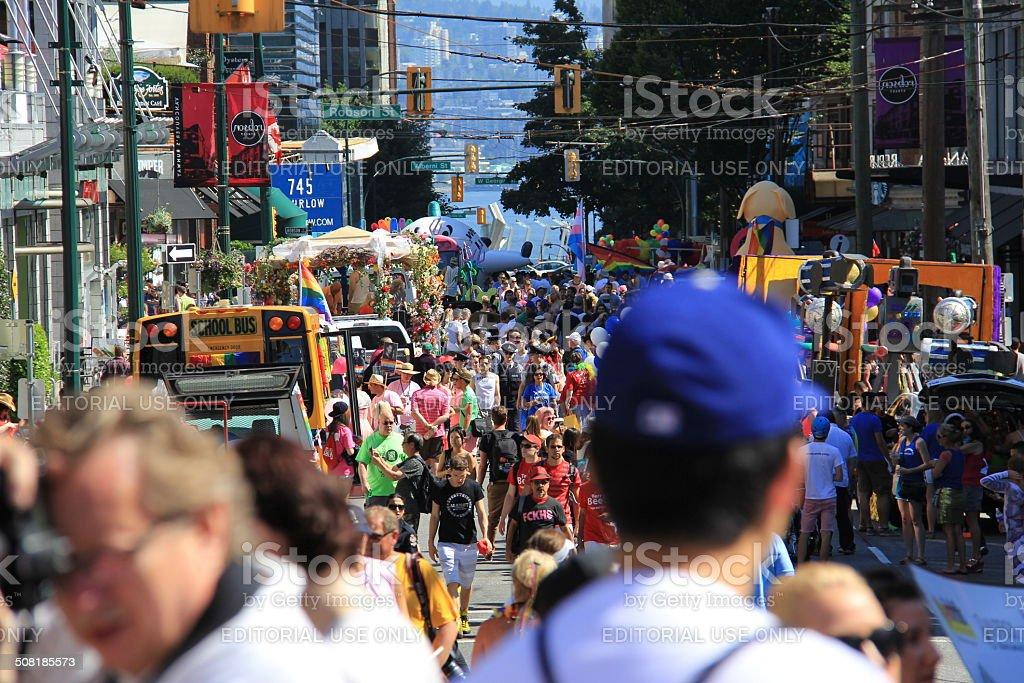 Pride Parade royalty-free stock photo