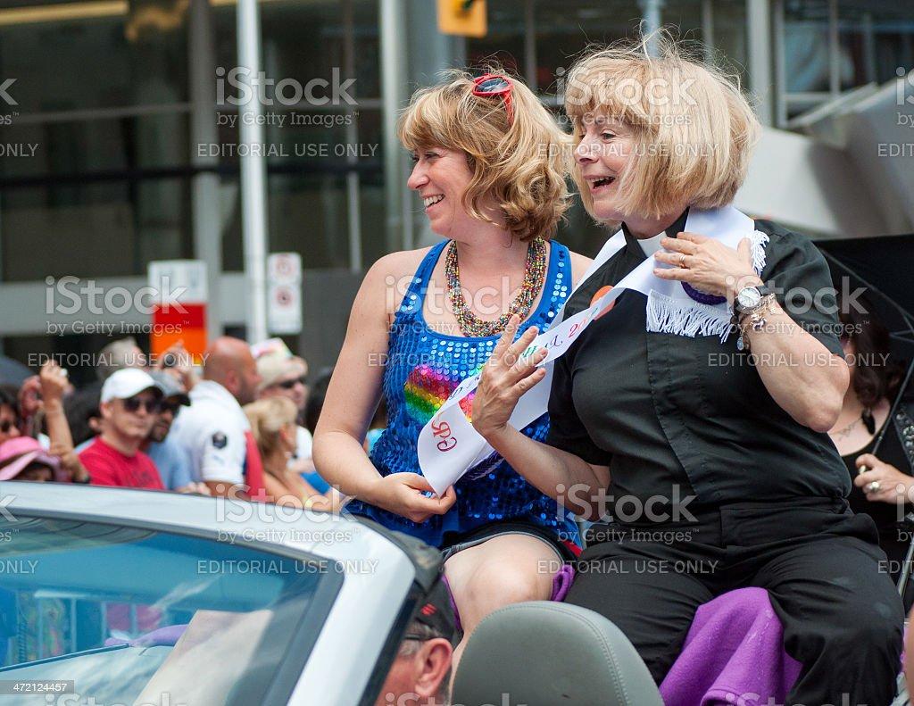 Pride Parade Toronto, 2012 royalty-free stock photo