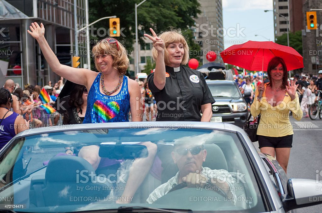 Pride Parade Toronto, 2012 royalty-free stock photo