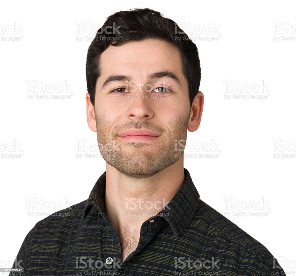 Prideful Young Man stock photo