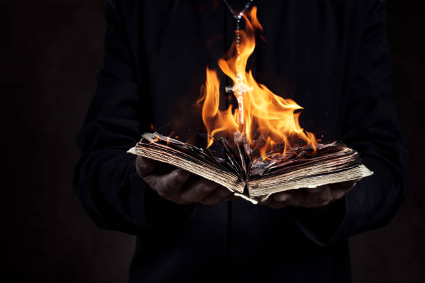 Image result for burning book