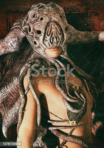 istock Priestess of the Great Old Ones 1076134948