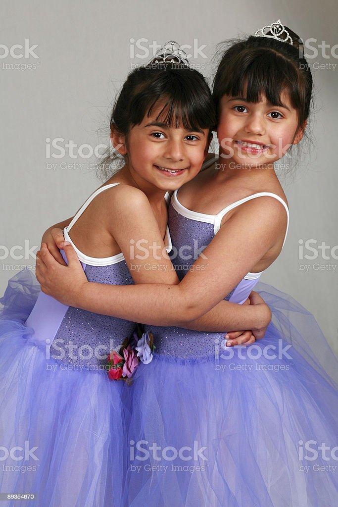 Prima Ballerinas stock photo