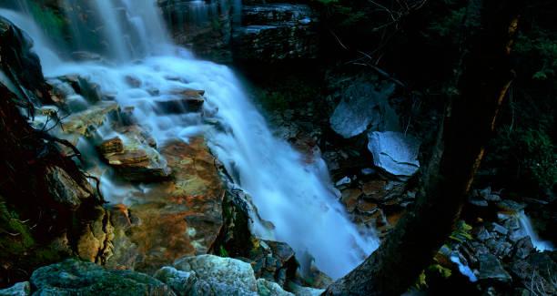 Primal Peterskill Falls stock photo