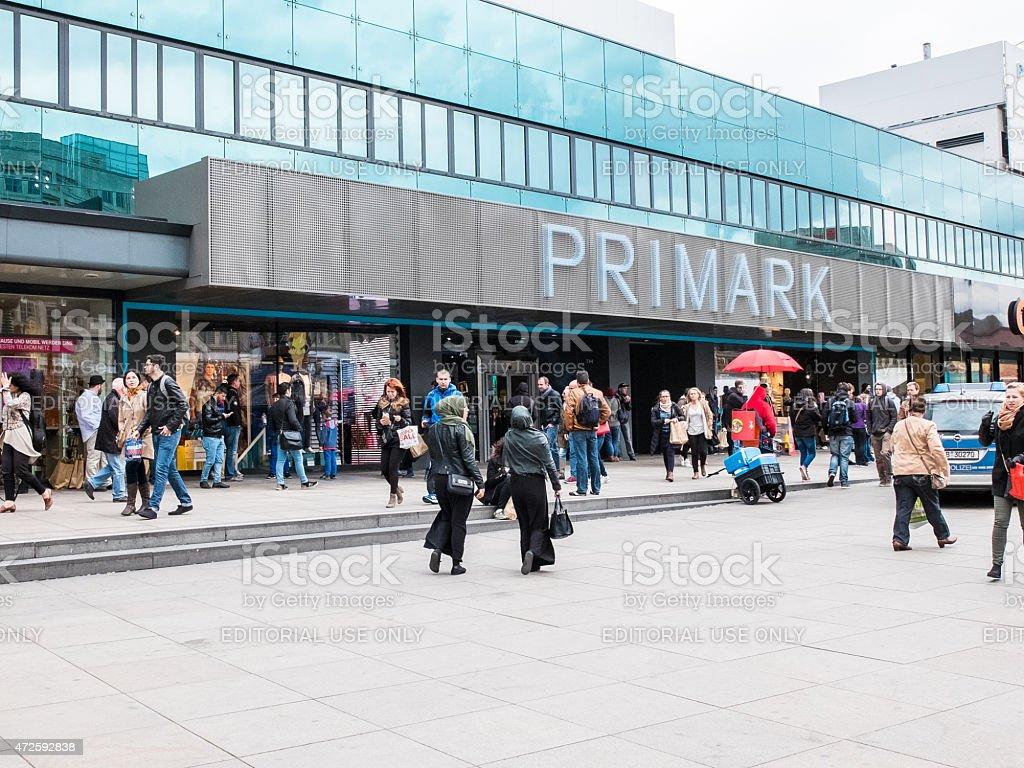 primark in berlin, Deutschland – Foto