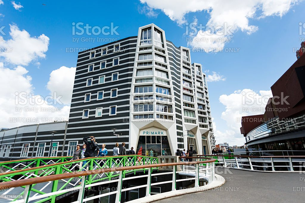 Primark building in Zaandam, Netherlands stock photo