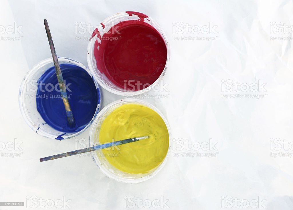 Primary Colors stock photo