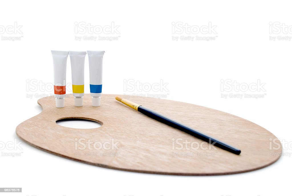 Primary Palette - Complete royalty-free stock photo