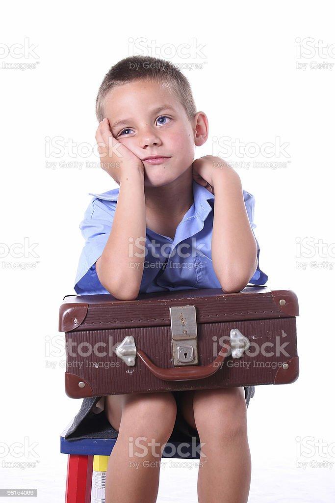 Primary school boy royalty-free stock photo