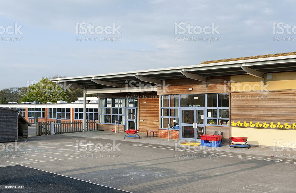 Primary school building in Kent, United Kingdom stock photo