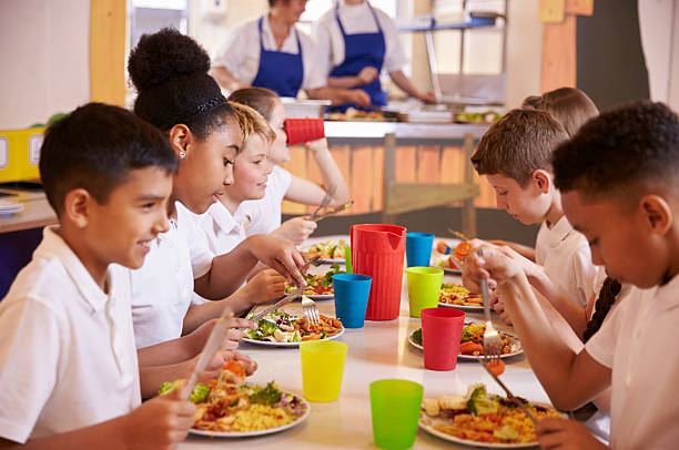 Primary school kids eating at a table in school cafeteria picture id538486580?b=1&k=6&m=538486580&s=612x612&w=0&h=x88p6mcug drrejtpowlqxpryqeo9fcyn6pgt2kuofw=