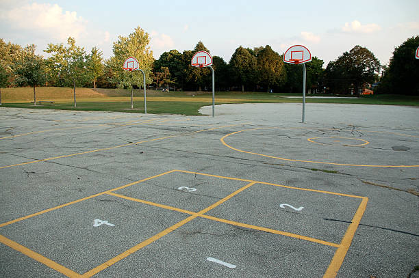 Primary school yard  number 4 stock pictures, royalty-free photos & images