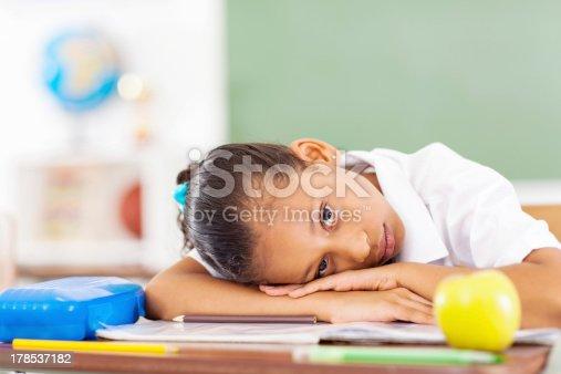 istock primary schoolgirl resting 178537182
