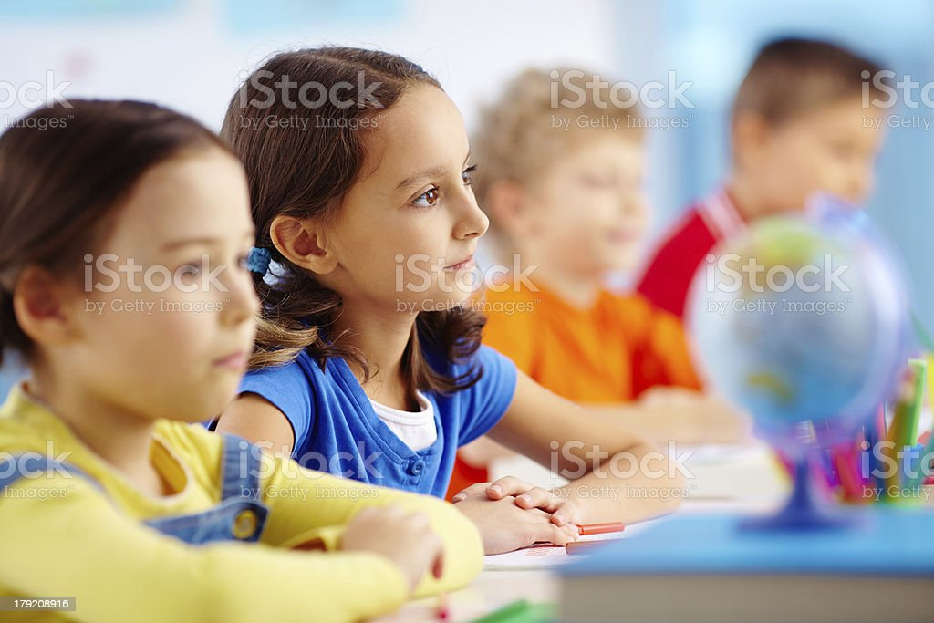 Primary student royalty-free stock photo